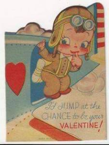 Vintage Paratrooper Valentine